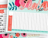 Annabel Notes Pages Kit - Planner Stickers