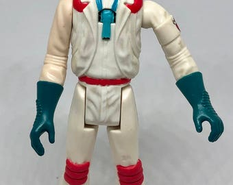 The Real Ghostbusters - Egon Spengler (Fright Features) - Vintage Kenner action figure