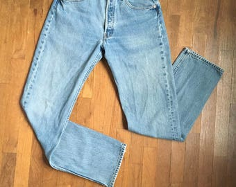 vintage levis 501 made in usa blue jeans 30 x 32