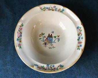 Vintage International Heartland Stoneware Large Vegetable Serving Bowl