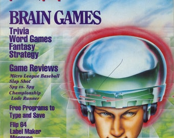 Commodore Power Play Magazine June July 1985 Good Reader Copy