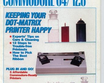 Compute!'s Gazette Magazine May 1989 Very Good