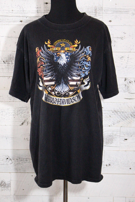 vintage 1996 harley davidson utah t shirt