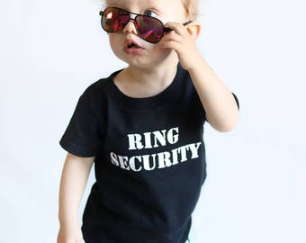 ring security shirt gift for ring bearer ring security ring bearer onesie groomsmen shirts wedding party shirts wedding party men gifts