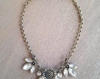 Flower Power Statement Necklace