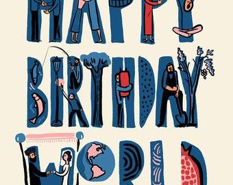 Happy Birthday World