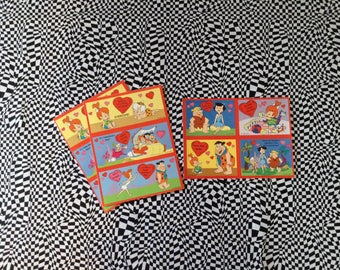 You Rock~Flintstones~Valentines~Cards~Vintage~1994~Set of 10~B7