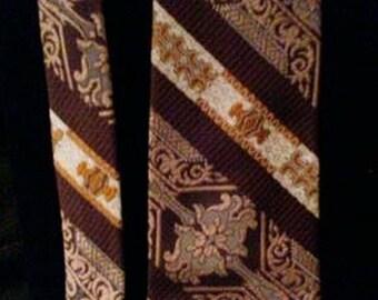 Vintage Italian Polyester Tie