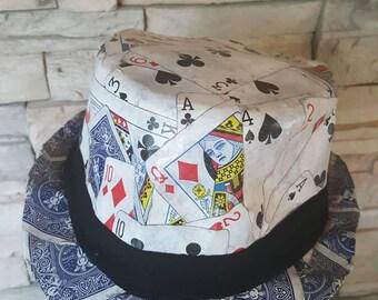 mad hatter hat, alice in wonderland,steampunk punk,Cosplay top hat/queen of hearts  hat/card hat/jocker hat/gambler hat