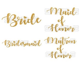Bridal Party iron on transfers, Bridal party shirts, Bridal party stickers, Bachelorette Party, Wedding Shirts
