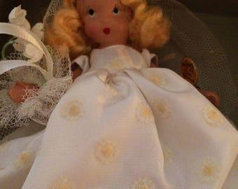 Storybook Doll, Family Series Bride #86, Blonde, Nancy Ann