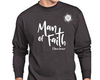 Man of Faith I love Jesus 2 SVG dfx Cut file  Cricut  Fathers day svg, Christian svg, Jesus svg, scripture svg, commercial license