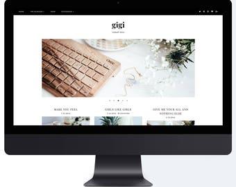 Gigi | Responsive Blogger Template + Free Installation