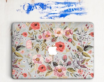 Macbook Air 13 Hard Flower Laptop Floral Macbook Pro Hard Case Macbook Pro 13 15 Mac Case Nice Macbook Air Hard Case Macbook Hard CGMC0008