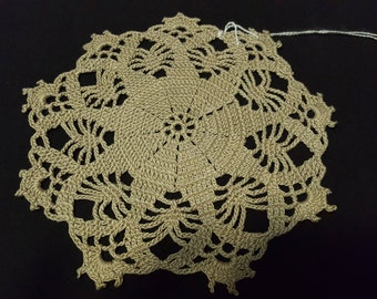 Corcheted doilies
