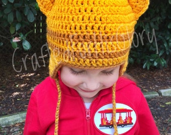 Daniel Tiger Costume Hat