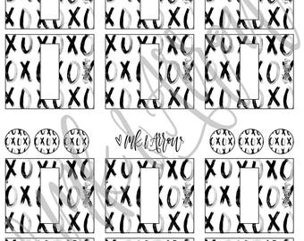 10ml Essential Oil Rollerball Labels | XOXO
