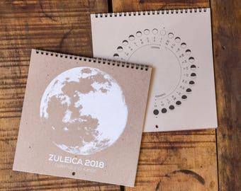 2018 Calendario Lunar Zuleica