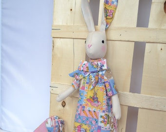 Luna Lapin - Rabbit with impeccable taste - Easter doll Dress- Luna Lapin Rabbid - Stuffed Rabbit - Clothing Rabbit
