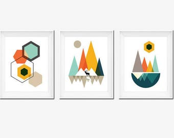 Best Seller, Printable Art, Mountains Art, Geometric Print, Best Selling Items, Wall Art Print, Affiche Scandinave, Top Selling Items