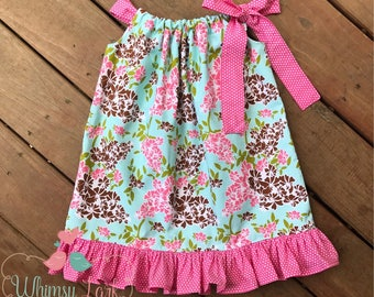 Pillowcase Dress, Size 3T, Ready to Ship