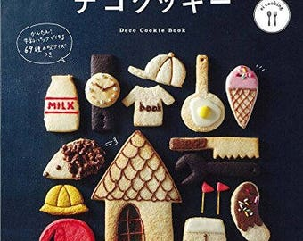 "Japanese Cookies Recipe Book""Decorated cookie with Pancake mix""[47779459953]"