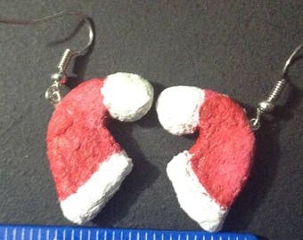 Christmas Hat Earrings
