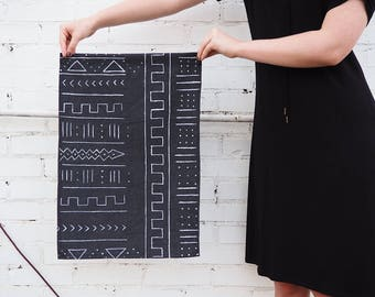 Wall Decor Banner // Mud Cloth Inspired