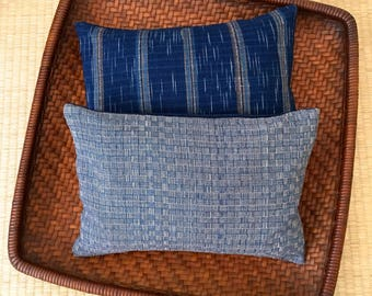 A Set of Two Organic Buckwheat Hull Travel/Support Cushions - SC7