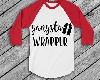Gangsta Wrapper svg, santa svg, merry christmas svg, cricut cut file, santa clause svg, holiday svg, jesus svg, christian svg, rudolph svg