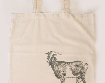 "Carry bag ""Goat"" (100% cotton)"