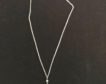 Crystal heart Necklace, earrings