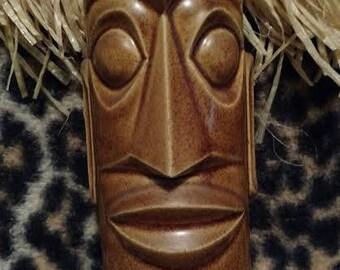 Artistic Angular Easter Island Tiki Mug