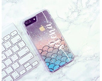 Mermaid Scale Samsung galaxy s7 case Samsung galaxy s8 case Samsung galaxy s7 edge case Samsung galaxy s8 plus case iPhone 7 iPhone 7 PLUS