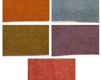 Diamond twill wool broadcloth fabric