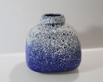 Gorgeous vase by Ruscha, 814 West German Pottery WGP, mid century,