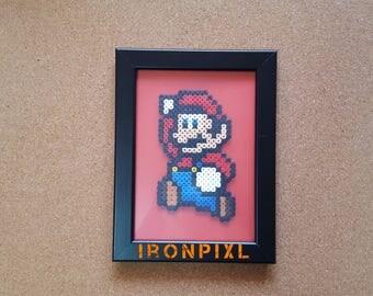 Super Mario Nintendo Games [Pixel Art] Jump table