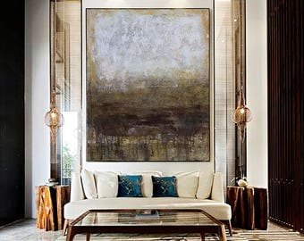 Large wall art, Abstract Painting, Original Art, Oil painting, Acrylic painting, Canvas art, Large canvas art, Paintings on canvas Brown art