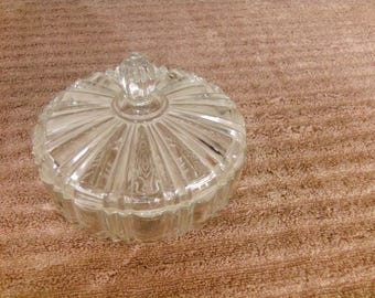 Old Cafe Design Anchor Hocking Candy Dish