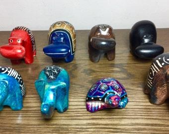 Masai Soapstone Figurines
