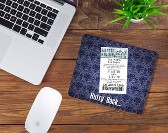 Haunted Mansion Fast Pass Mouse Pad