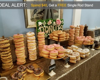 Best Selling Custom Donut Stands For Donut & Breakfast Bars
