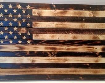 Small Rustic American Flag