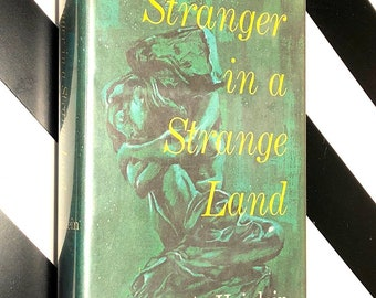 Stranger in a Strange Land by Robert Heinlein (1961) hardcover book