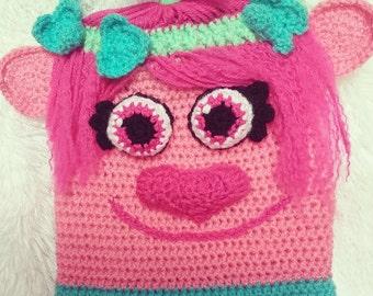 Poppy Troll Inspired Kids Bag **PATTERN ONLY**
