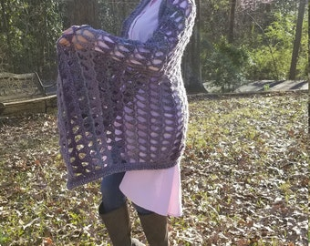 Triangle Patterned Throw