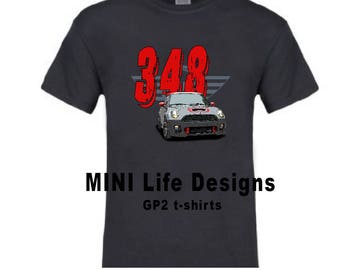 GP2 t-shirt customized with your number