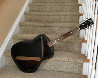 Black Guitar Shelf