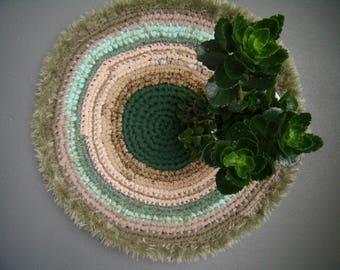 Upcycled crochet rug / Upcycled rug / hand made crochet rug/carpet for Terrace/balcony/gift idea/carpet rug handmade