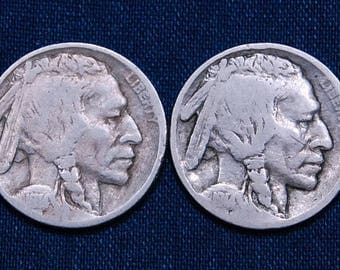 1914 and 1914-S Buffalo Nickels